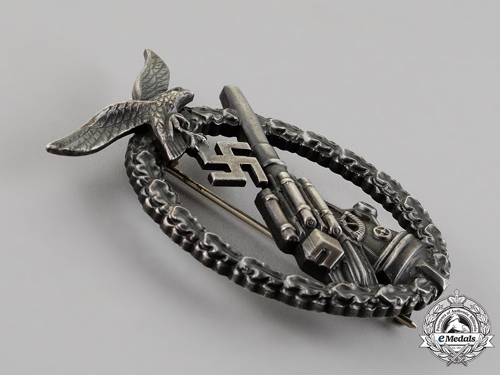 Germany. A Mint Luftwaffe Flak Badge, c. 1942