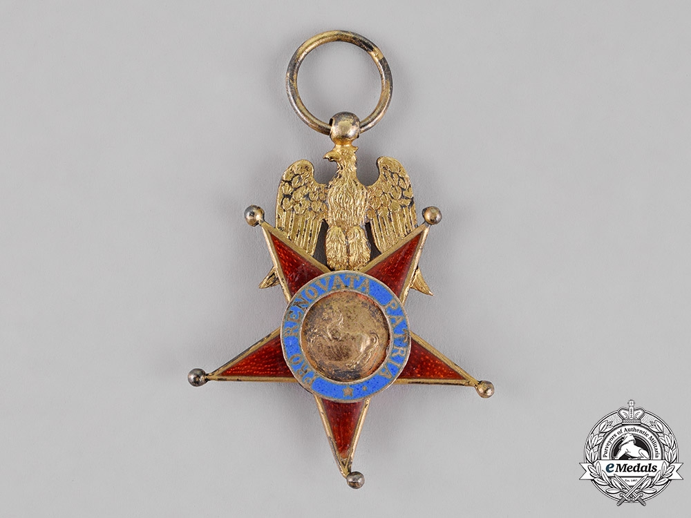 Italy, Kingdom of Naples. A Royal Order of the Two Sicilies, Knight, c.1810