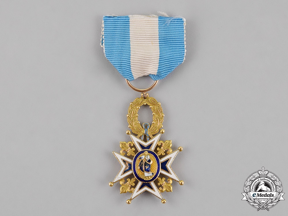 Spain, Kingdom. An Order of Charles in Gold, 1st Class Knight, c.1870