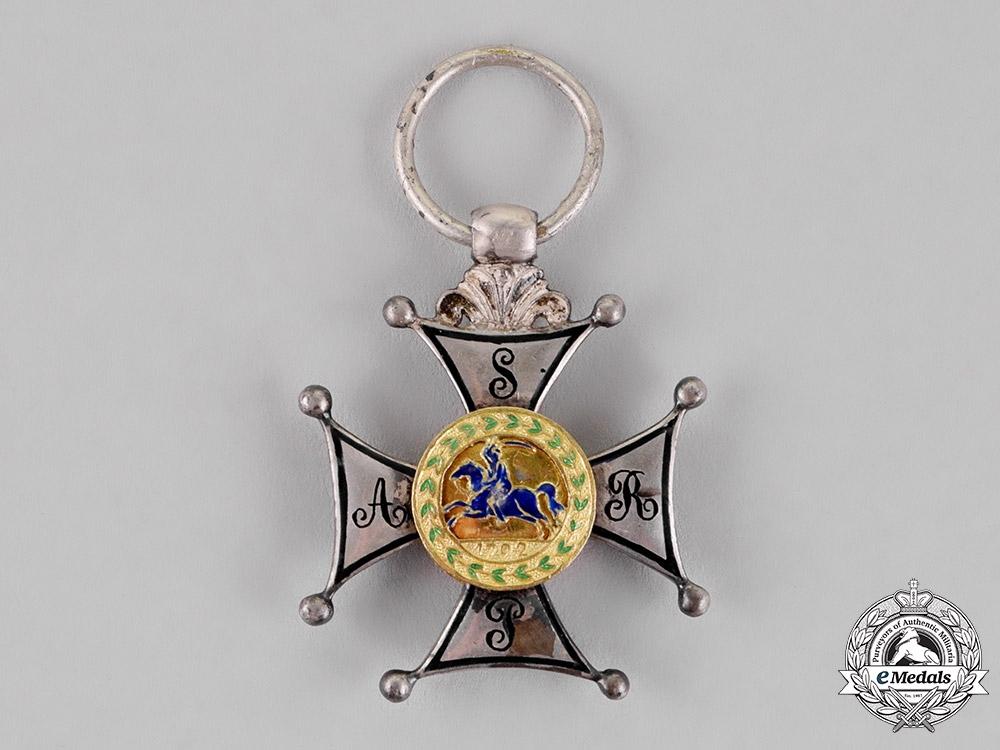 Poland, Duchy of Warsaw. A Silver Cross of Virtuti Militari, 5th Class, c.1807
