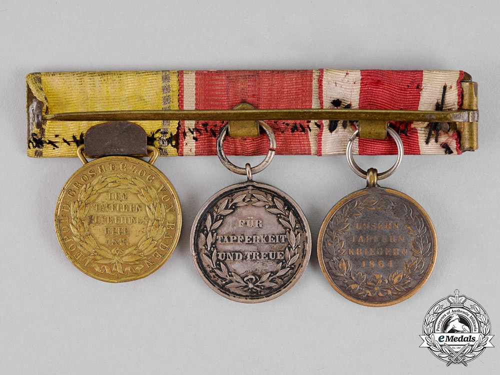 Germany, Imperial. A Hesse Long Service Group, c.1860