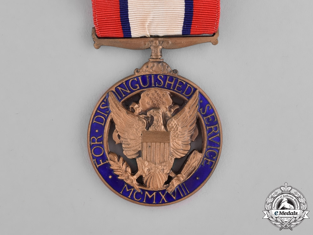 United States. An Army Distinguished Service Medal Group to Colonel John Preston Terrell, Coast Artillery Corps