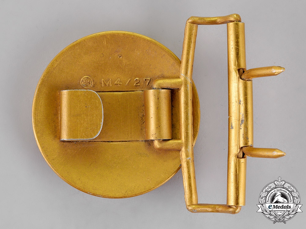 Germany. A Belt Buckle for Political Leaders of the NSDAP, by Overhoff & Cie of Lüdenscheid