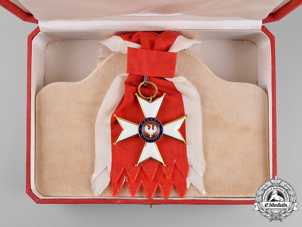 Poland, Republic. An Order of Polonia Restituta, Grand Cross Badge, c.1935