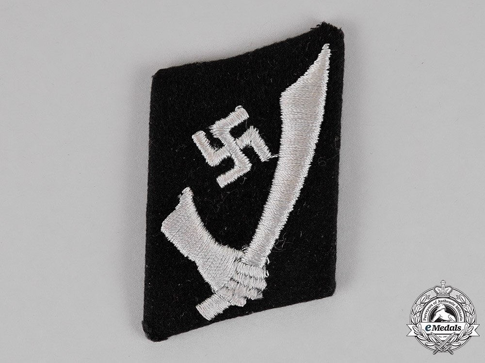 Germany A Single 13th Waffen Ss Mountain Division Handschar Collar Tab