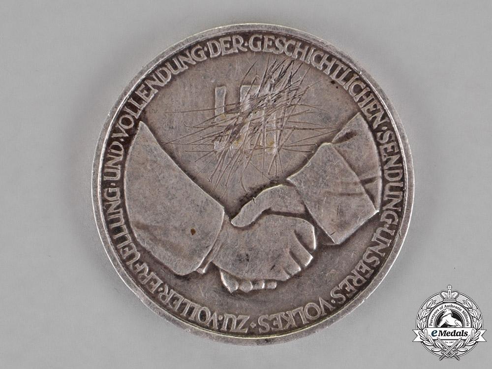 Germany. Third Reich. A Silver Manifest Destiny Medal