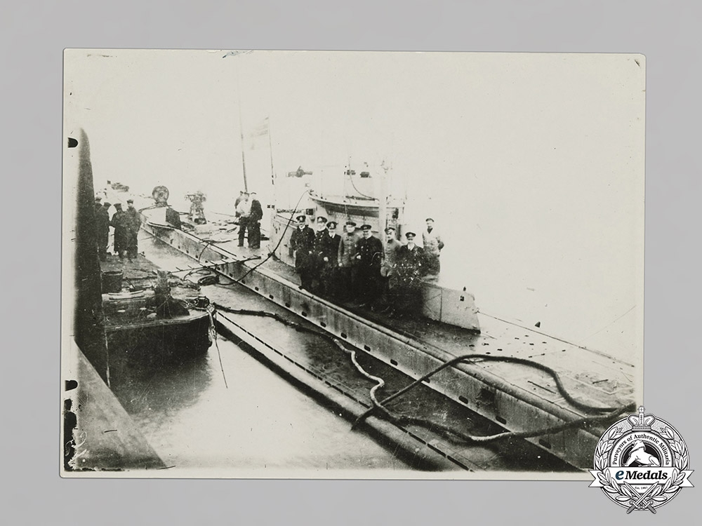 Germany (Imperial). Lot of Four First War U-Boat Photographs