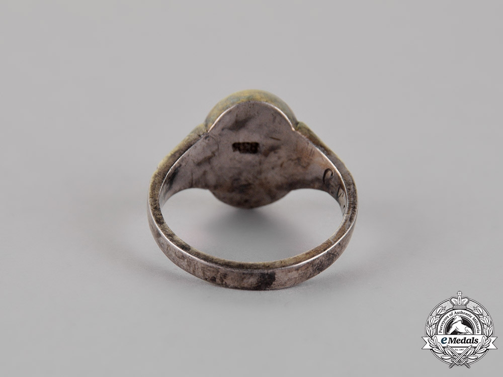 Germany, Third Reich. A Patriotic Ring in a Presentation Box