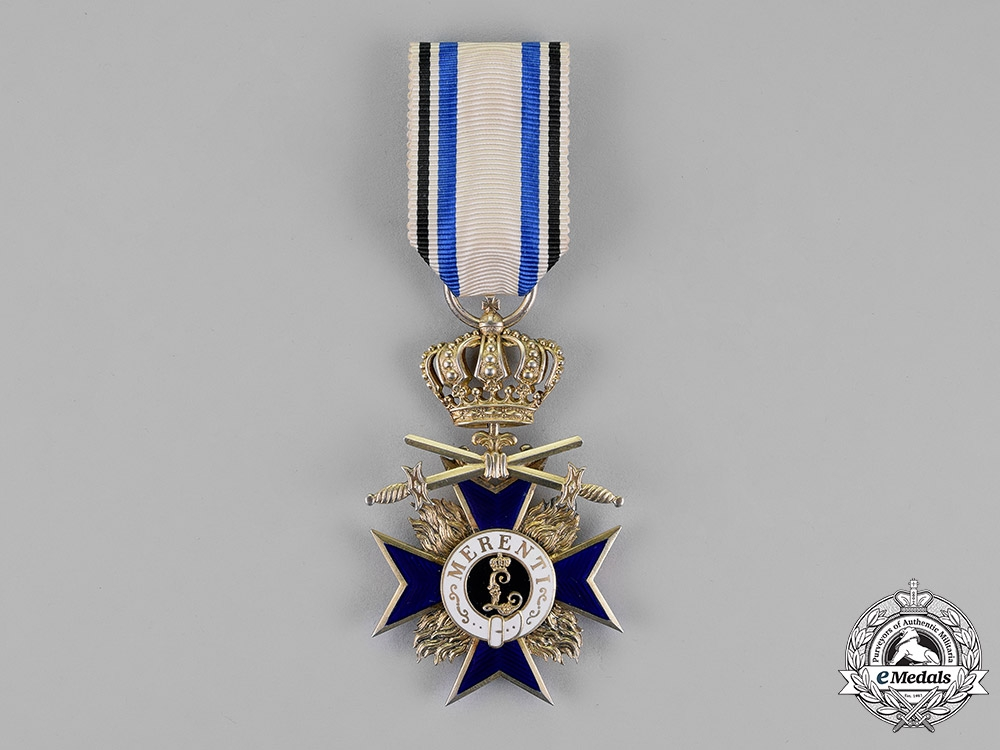 Germany, Bavaria. An Order of Military Merit, Third Class with Crown and Swords, c.1914
