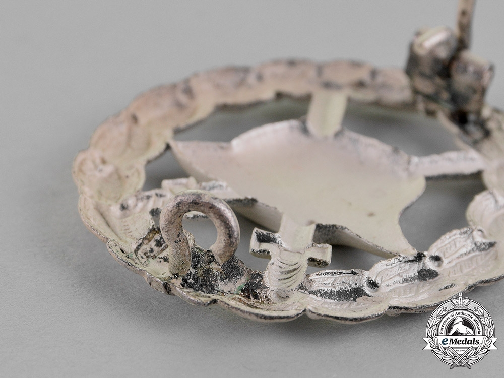Germany. A Wound Badge, Silver Grade, Magnetic, c.1916