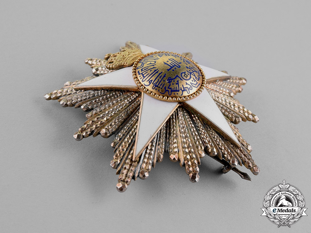 Egypt, Kingdom. An Order of the Nile, Grand Officer, 2nd Class, by Lattes, c.1925