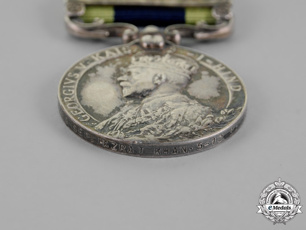 United Kingdom. An India General Service Medal 1908-1935, 10th Baluch Regiment