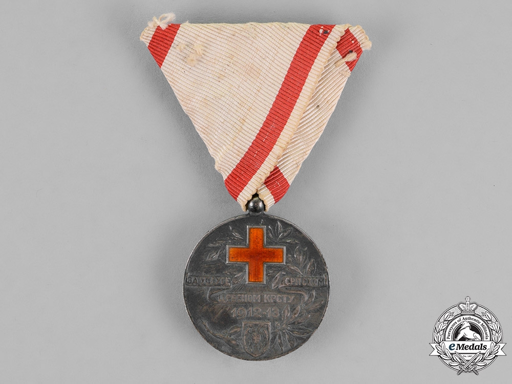 Serbia, Kingdom. A 1912-13 Red Cross Medal