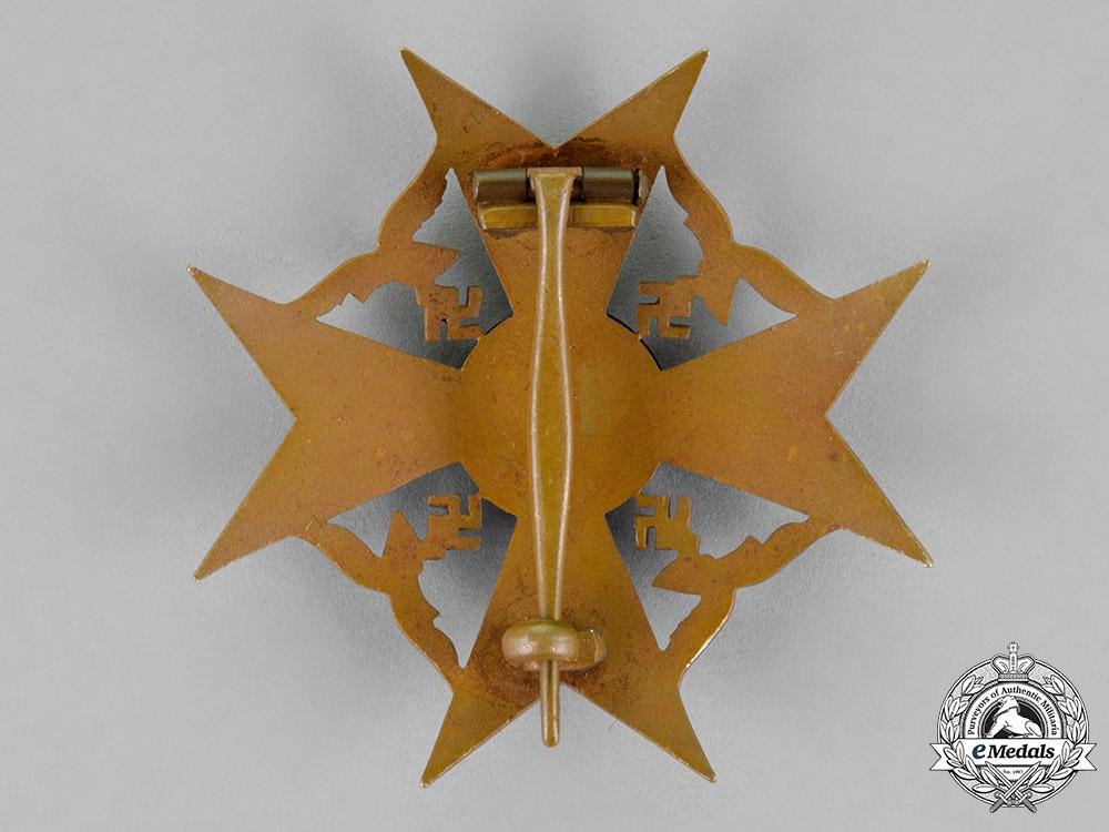 Germany, Wehrmacht. A Spanish Cross, Bronze Grade