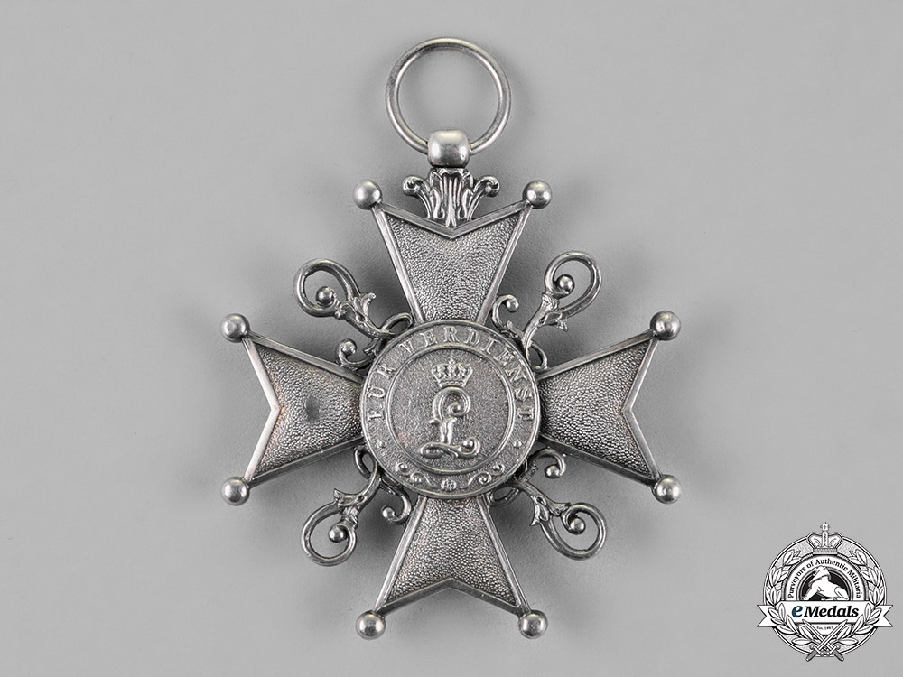 Lippe, Principality. A Leopold Order, Silver Cross for Merit, c.1916