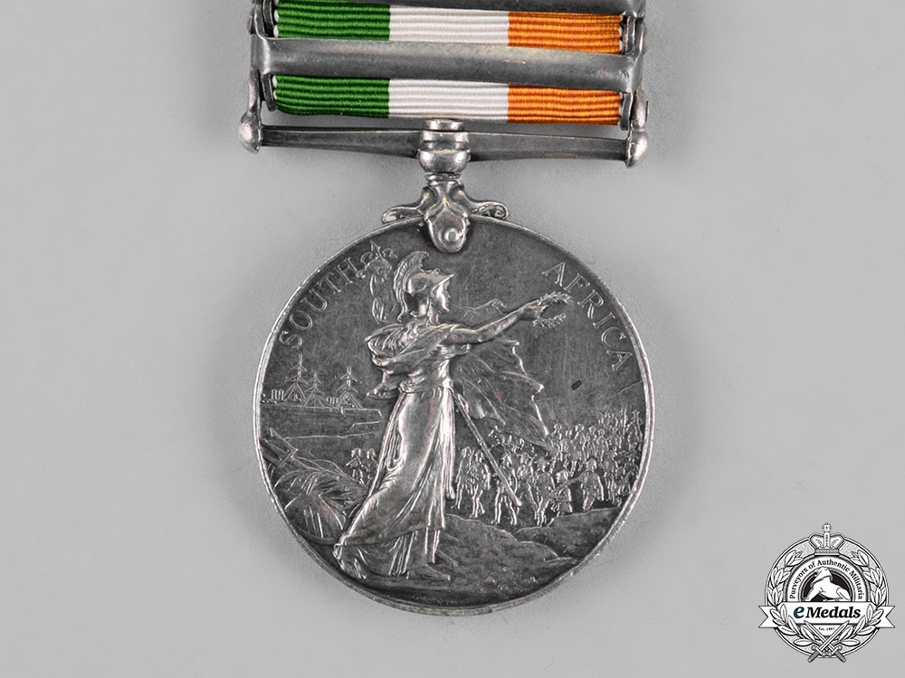 Great Britain. A King's South Africa Medal 1901-1902, Norfolk Regiment