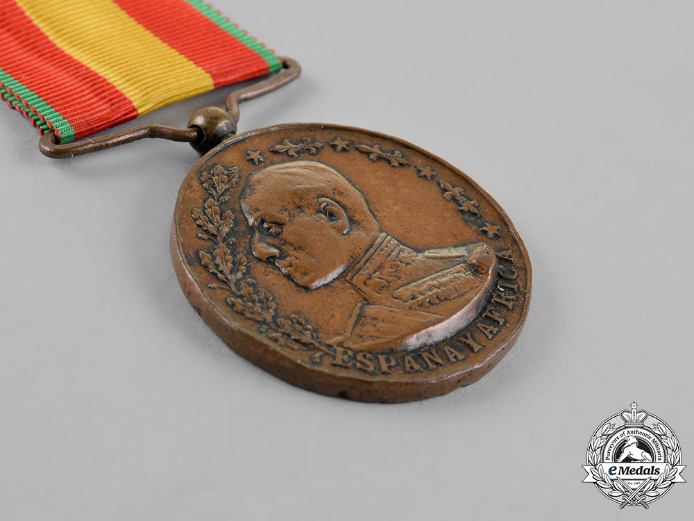 Spain. A Medal for Africa, c.1912