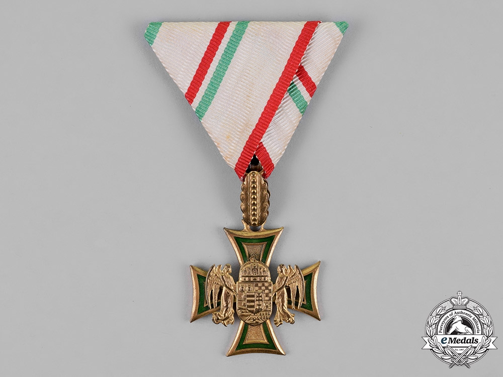 Hungary, Regency. A Rare Hungarian 1st. Class Long Service Cross