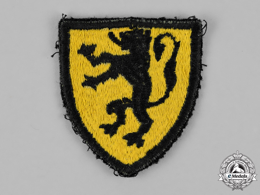 Belgium. A Flemish Legion Sleeve Insignia