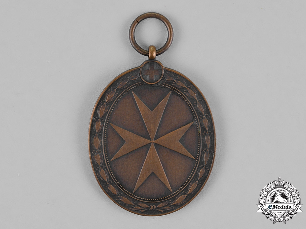 Austria, Imperial. An Order of the Knights of Malta, Bronze Merit Medal