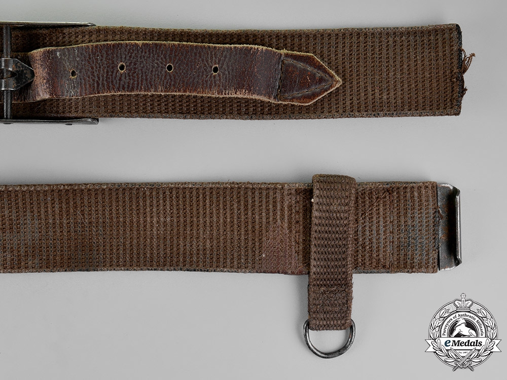 Romania, Republic  An Army Belt with Buckle,