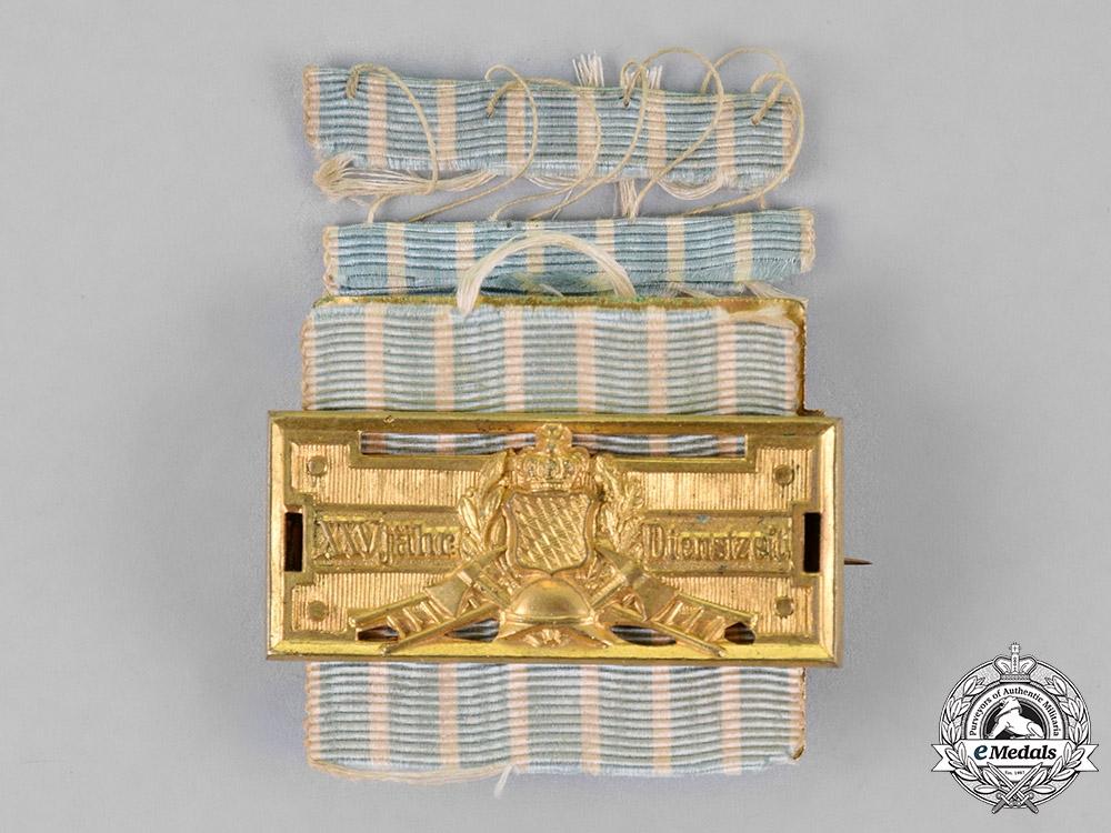 Bavaria, Kingdom. A 25-Year Fire Brigade Long Service Decoration