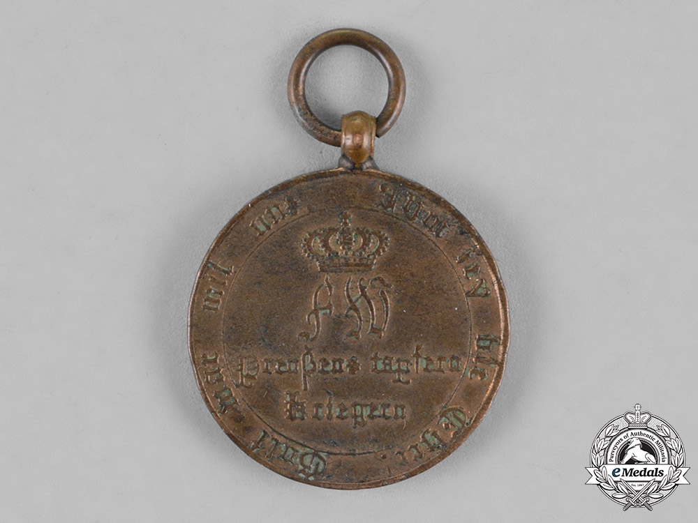 Prussia, Kingdom. An 1814 Campaign War Medal