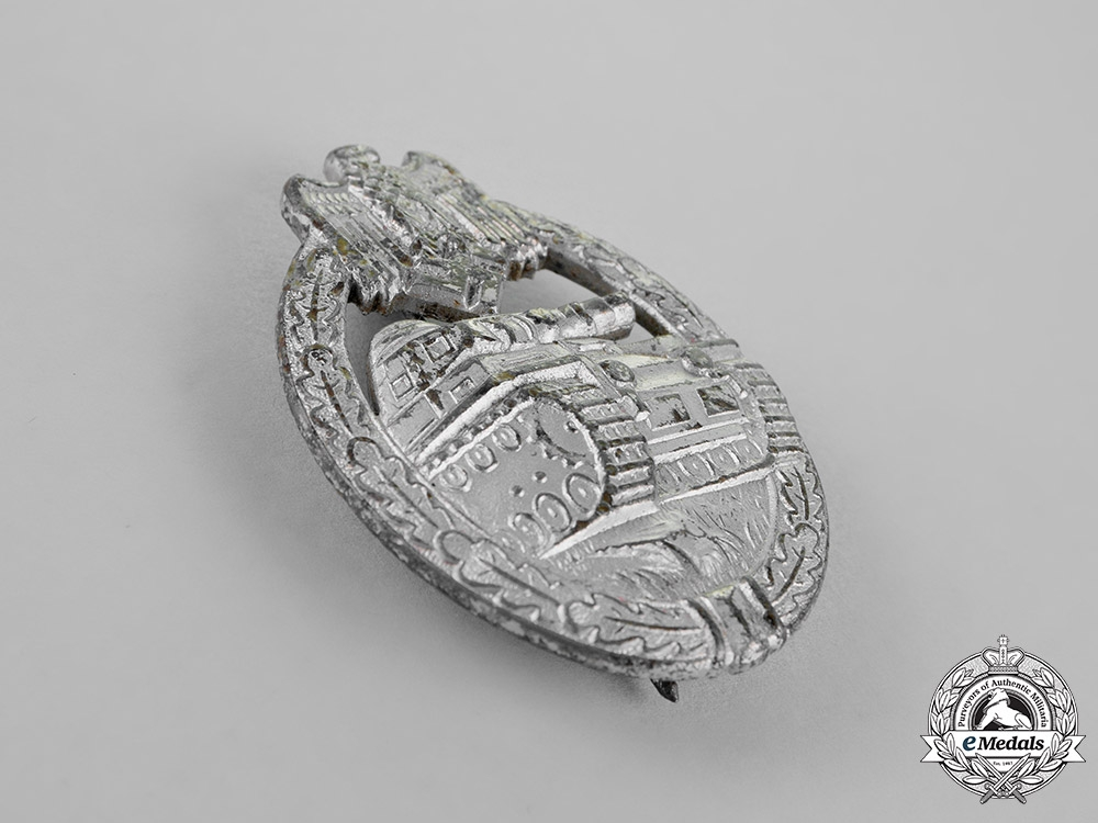 Germany, Wehrmacht. A Tank Badge, Silver Grade