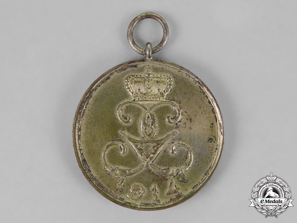 Schwarzburg-Rudolstadt. A 1914 Honour Medal for War Merit