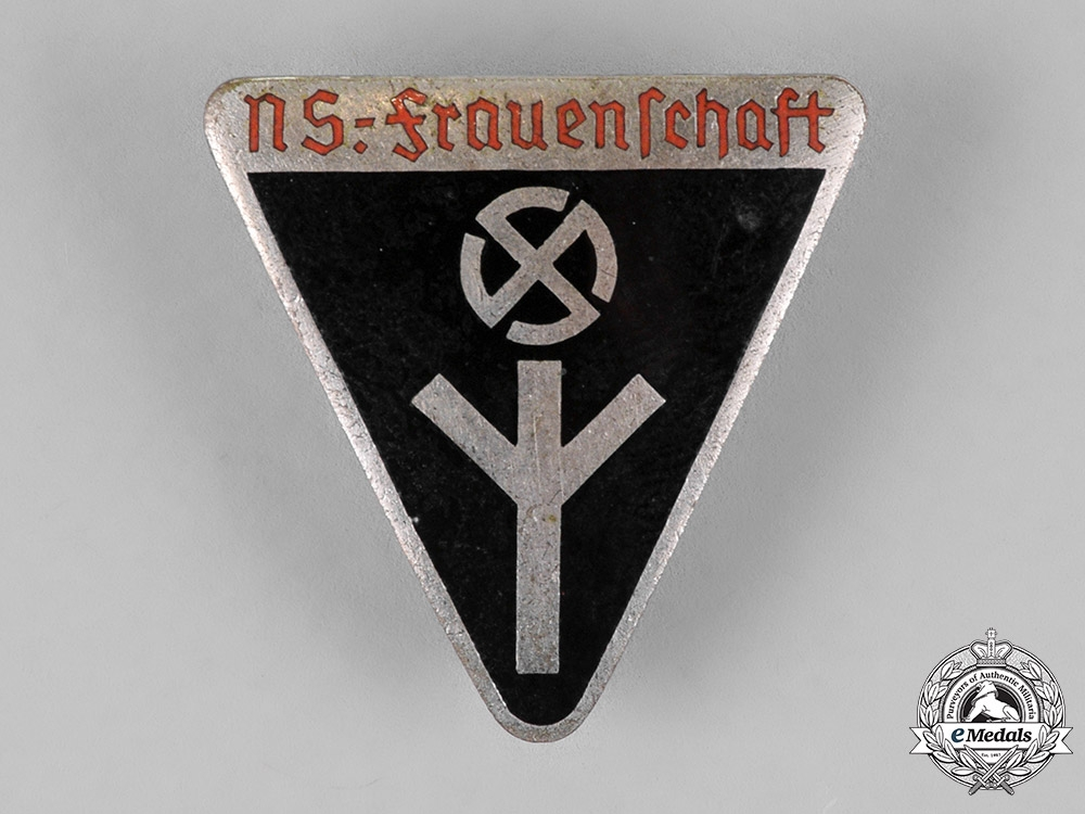 Germany. A National Socialist Women's League Membership Badge, Third Type, by Karl Pichl