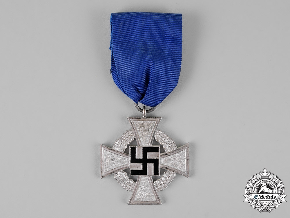 Germany. A Civil Faithful Service Medal for 25 Years of Service