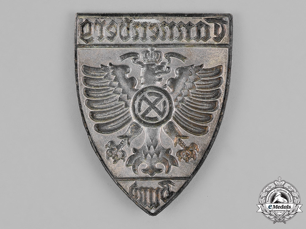 Germany. A Tannenberg League Sleeve Badge