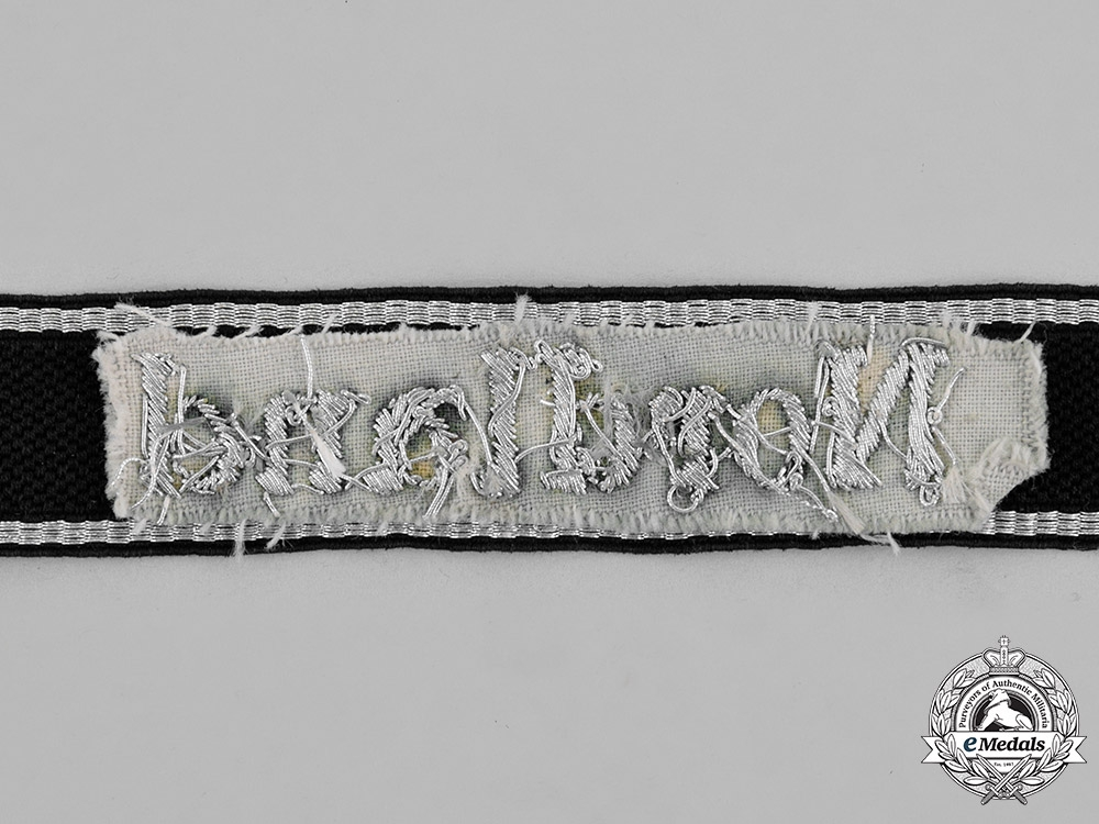 """Germany. A Waffen-SS Panzergrenadier Division """"Nordland"""" Officer's Cufftitle"""