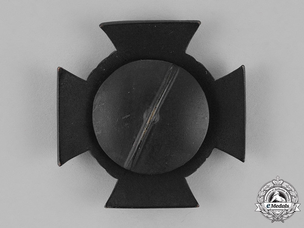 Oldenburg, Duchy. A Mint Private Purchase Friedrich August Cross, First Class, Screwback Version