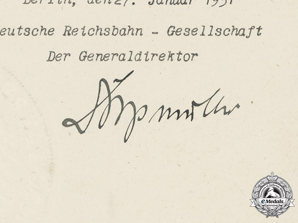 Germany, Imperial. A Collection Of Appointment Documents Signed by   Wilhelm II, King of Prussia