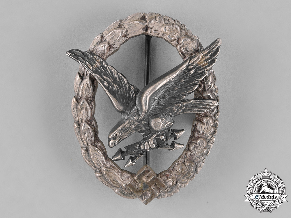Germany, Luftwaffe. A Radio Operator & Air Gunner Badge, by C.E. Juncker