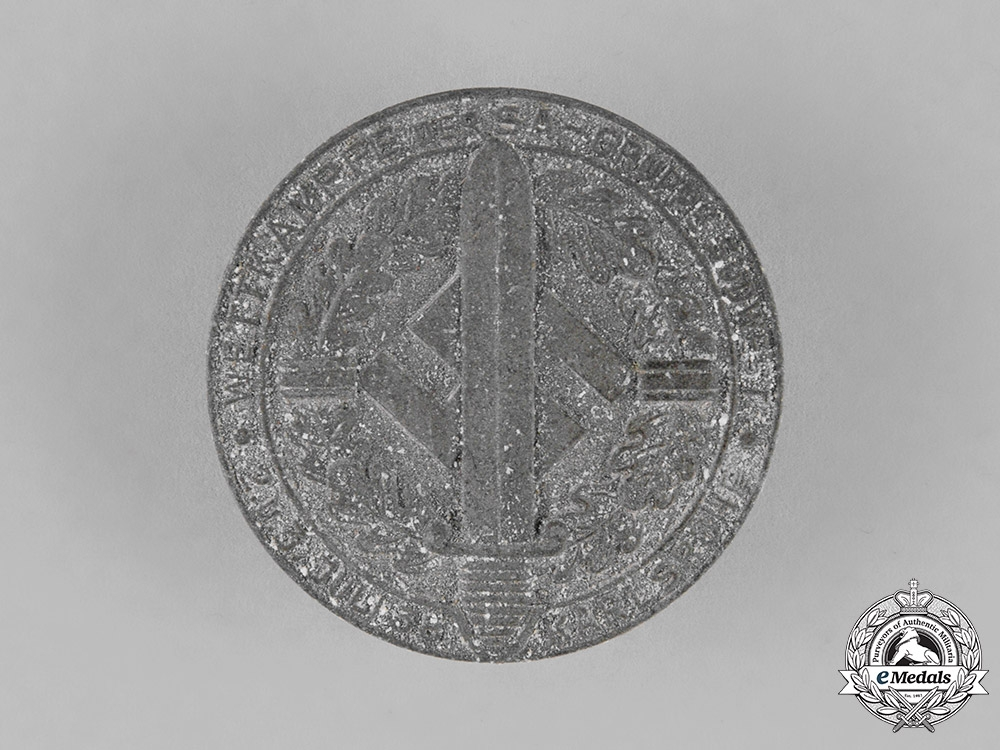 Germany, SA. A SA Sports Competition Badge for July 1938 Events, c.1938