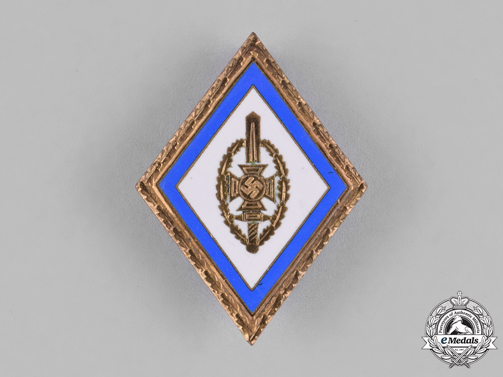 Germany. A National Socialist War Victim's Care Honour Badge with Oak Leaves