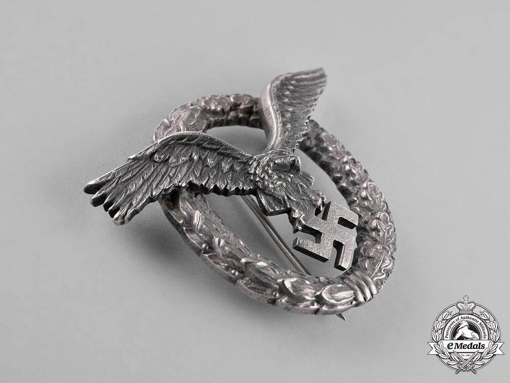 Germany, Luftwaffe. A Pilot's Badge by, C.E. Juncker