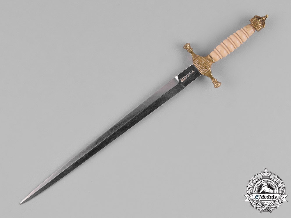 Germany, Empire. A Colonial Naval Dagger Dirk Saleman's Sample