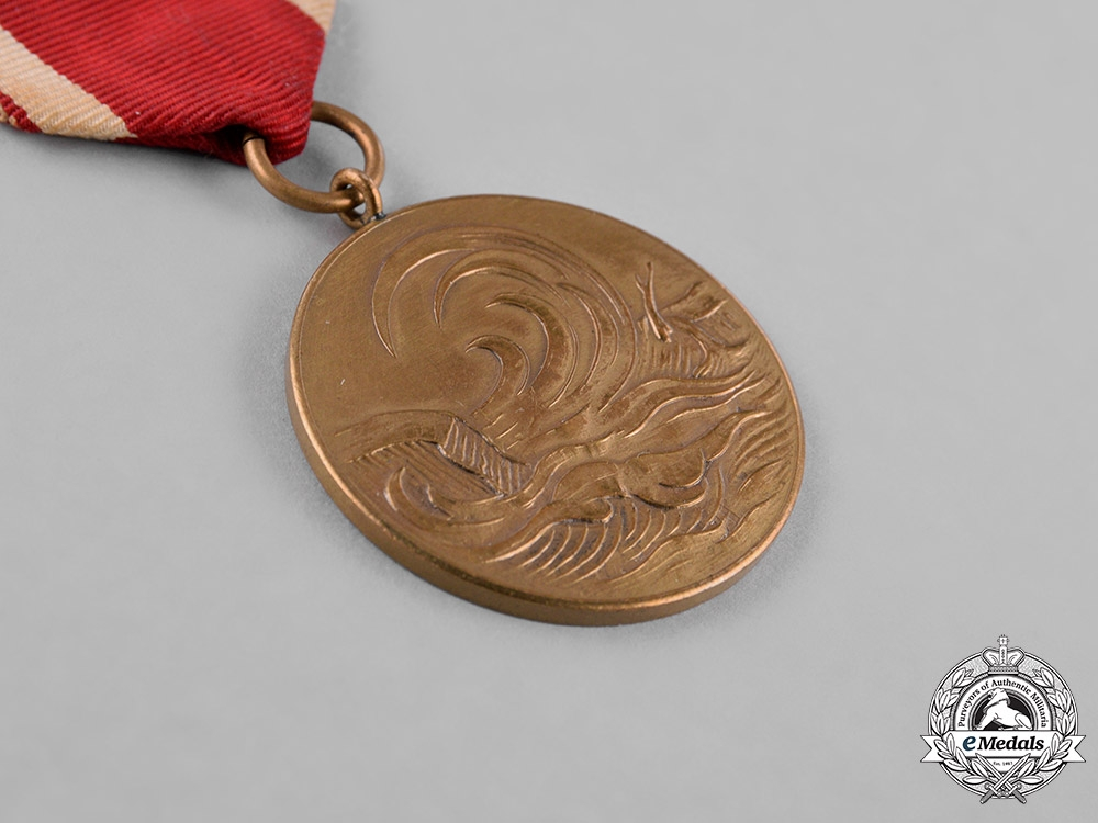 Germany, Federal Republic. A 1962 Commemorative Medal for the Flooding of Hamburg