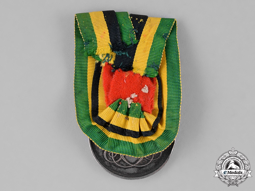 Saxony-Weimar. A Silber Merit Medal