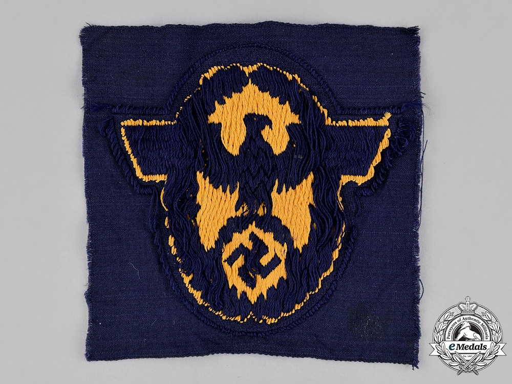 Germany. A Mint & Unissued Water Protection Civil Police Sleeve Eagle