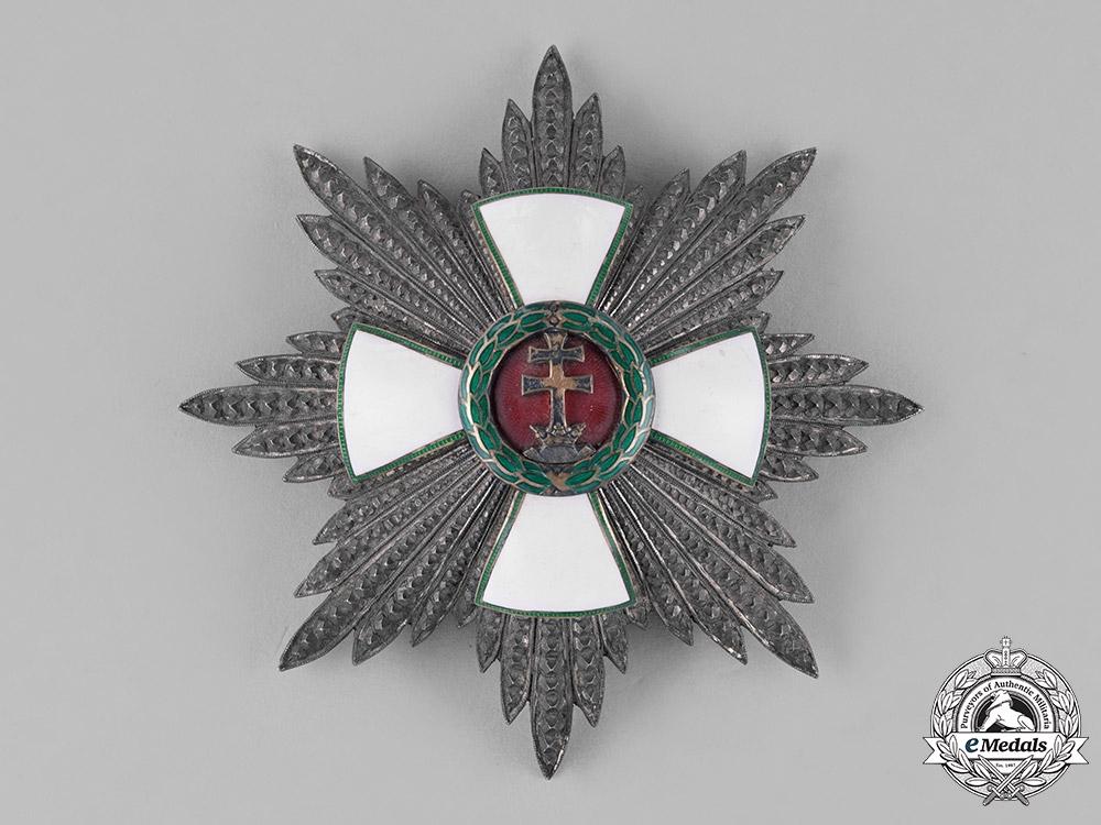Hungary, Kingdom. An Order of Merit, 1st Class Grand Cross, c.1935