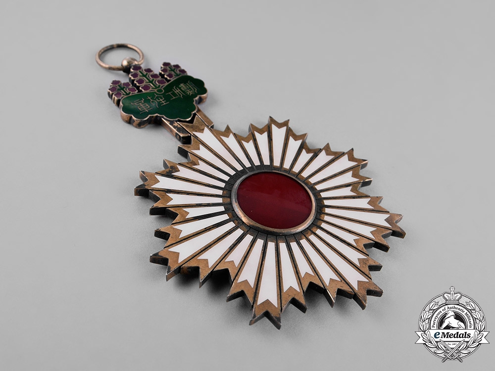 Japan. Order of the Rising Sun, 1st Class Grand Cross, c.1900