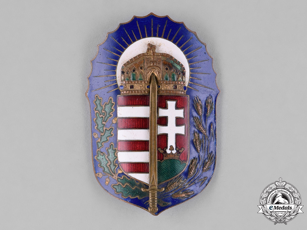 Hungary, Kingdom. An Order of Vitez Badge with Miniature