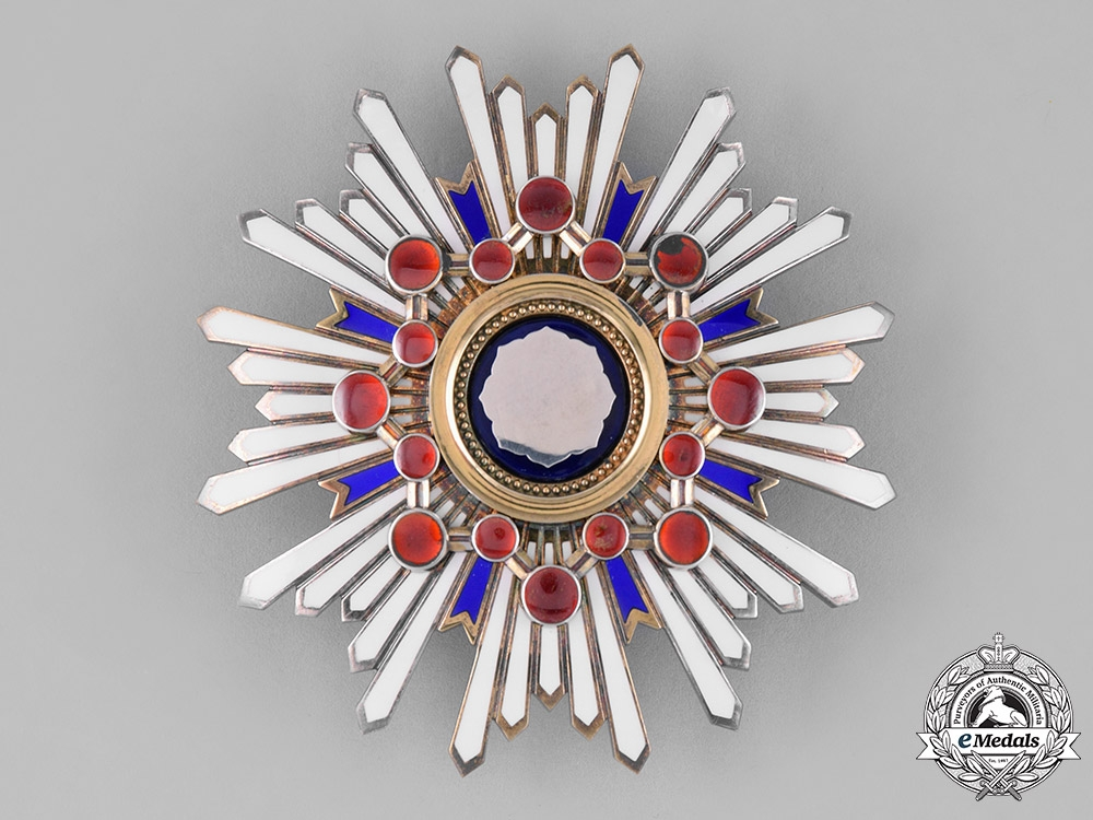 Japan, Empire. An Order of the Sacred Treasure, First Class Grand Cross, c.1910