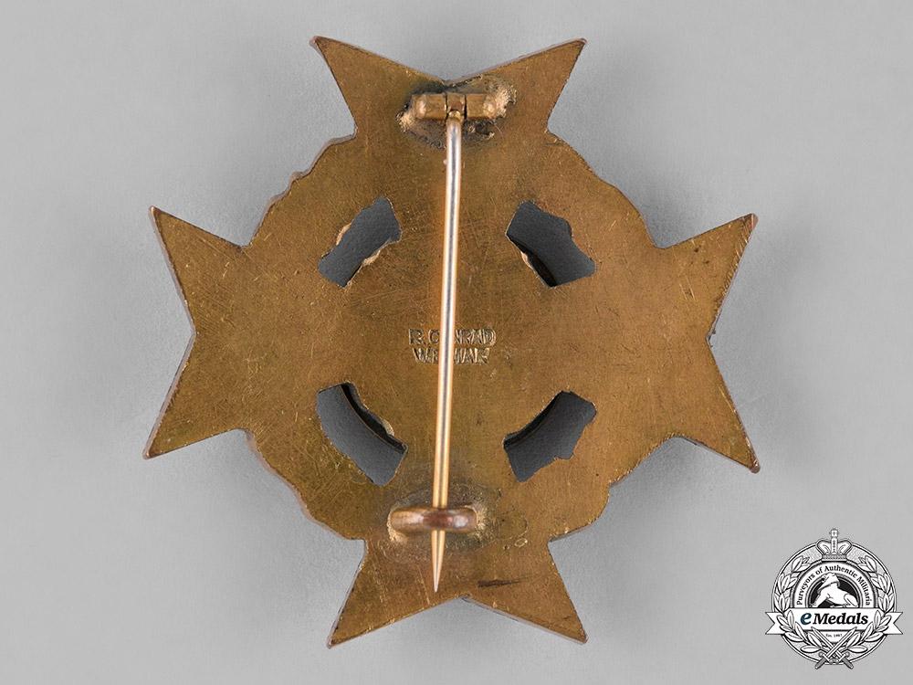 Germany, Weimar Republic. A Grouping of Two Veteran's Association Long Membership Crosses