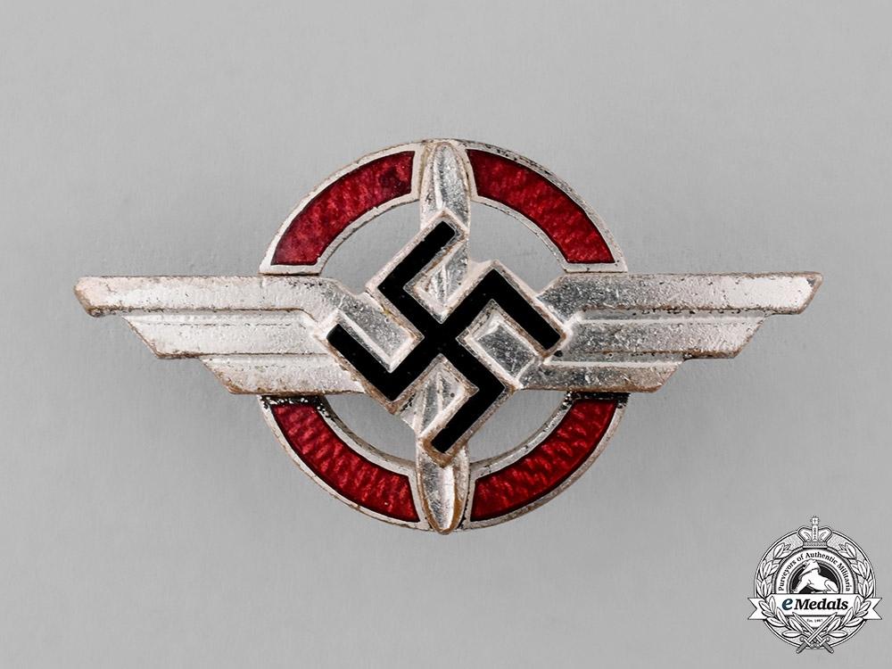 Germany, DLV. A German Air Sports Association Supporter's Badge, by Deumer of Lüdenscheid