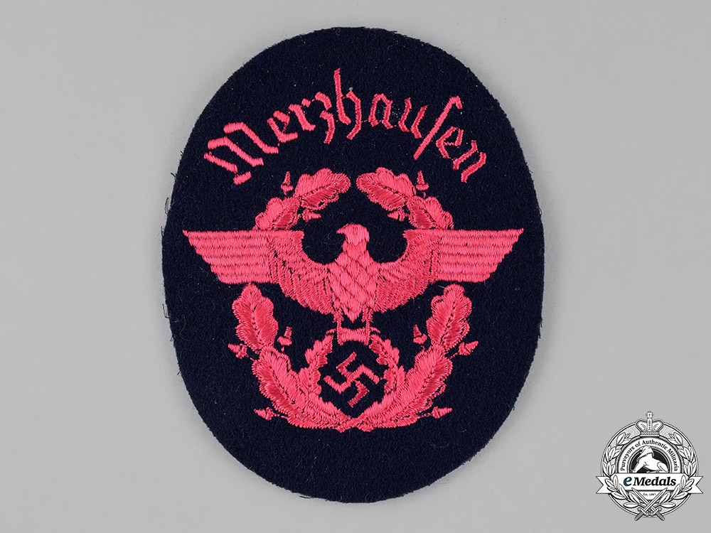 Germany. An Unissued Firefigther's Sleeve Insignia